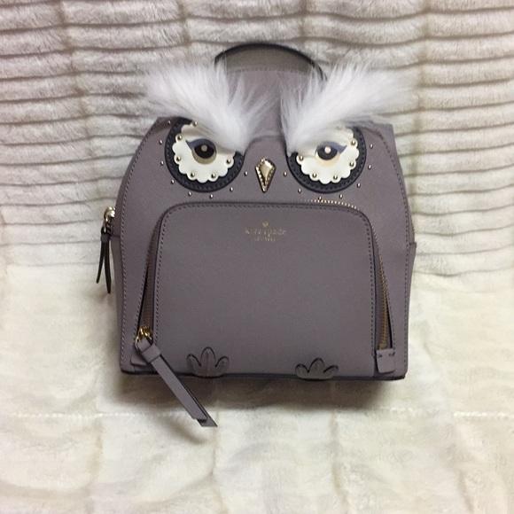 e57603467f255 NWT Kate Spade Owl Tomi Backpack